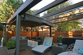 Deck builder in Toronto. Trex decking and pergola