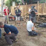 HGTV Backyard Builds- GoliathTech screw pile install