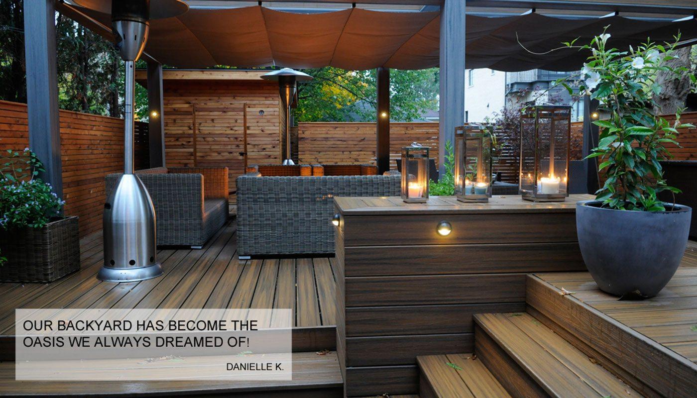 Trex Deck Backyard Retreat