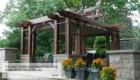 Elegant dining structure