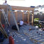 Deck build underway