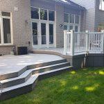 Custom curved deck