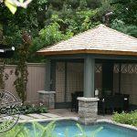 Custom dining pavilion