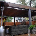 Trex pergola and shade canopy