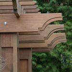 Ipe pillars and pergola details