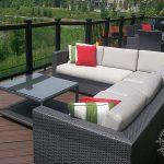Trex high level deck