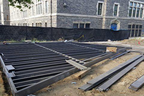 Trex Elevations steel deck structure