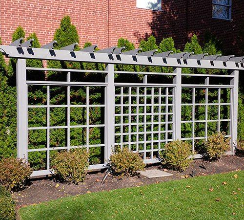 Custom Cedar garden screen