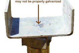 Saddle bracket for a deck support